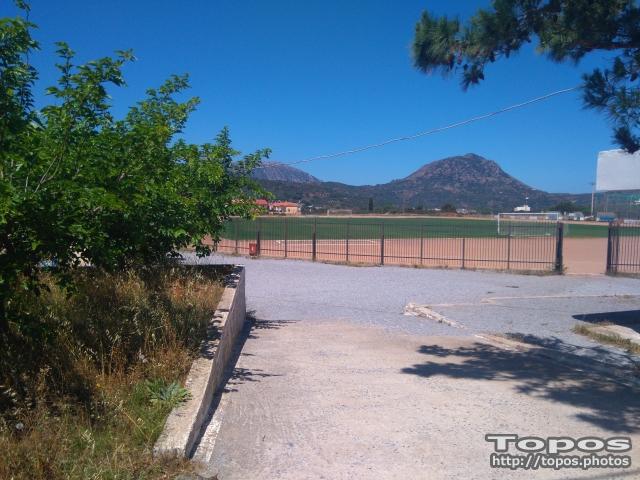 Neapoli Stadium Periklis Melidoniotis