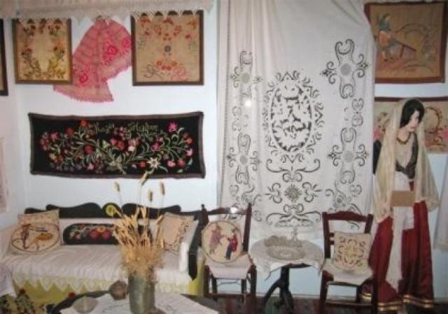Λαογραφικό Μουσείο Χανίων - Κρητικό σπίτι